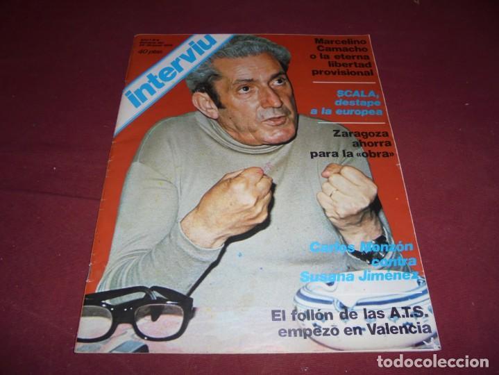 Coleccionismo de Revista Interviú: mangnificas 37 revistas de interviu primeros numeros - Foto 7 - 234664500