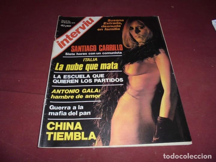 Coleccionismo de Revista Interviú: mangnificas 37 revistas de interviu primeros numeros - Foto 9 - 234664500
