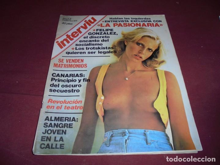 Coleccionismo de Revista Interviú: mangnificas 37 revistas de interviu primeros numeros - Foto 10 - 234664500