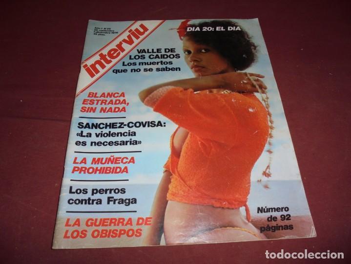 Coleccionismo de Revista Interviú: mangnificas 37 revistas de interviu primeros numeros - Foto 13 - 234664500