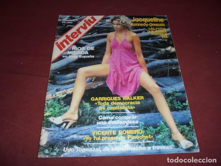 Coleccionismo de Revista Interviú: mangnificas 37 revistas de interviu primeros numeros - Foto 17 - 234664500