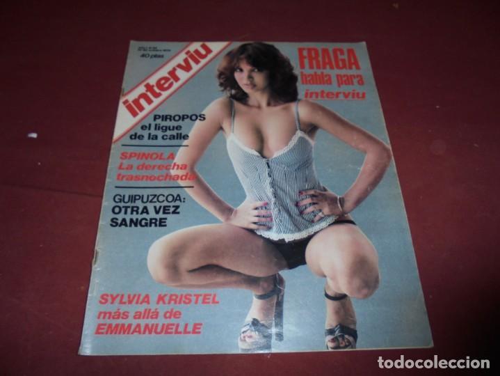 Coleccionismo de Revista Interviú: mangnificas 37 revistas de interviu primeros numeros - Foto 20 - 234664500