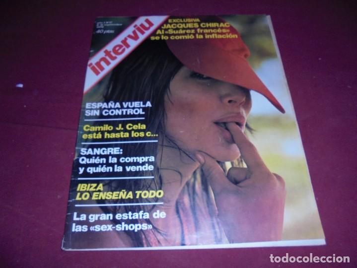 Coleccionismo de Revista Interviú: mangnificas 37 revistas de interviu primeros numeros - Foto 21 - 234664500