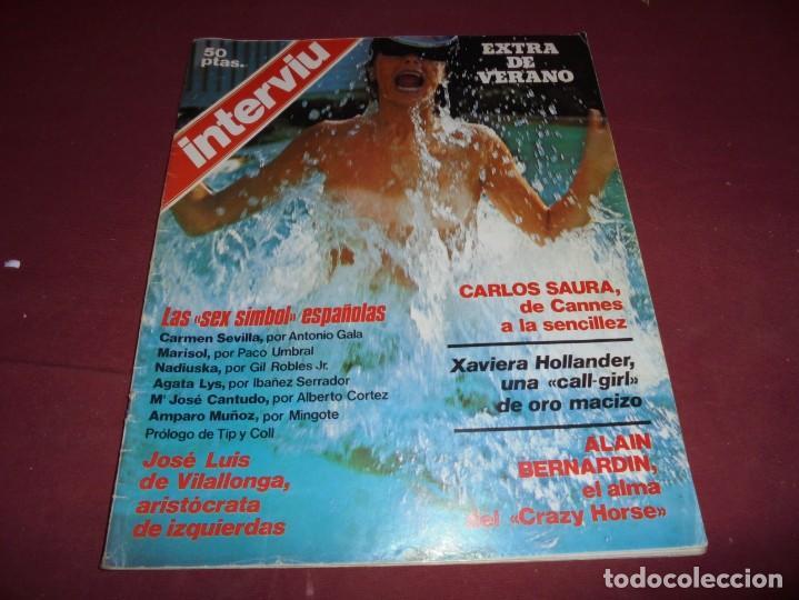 Coleccionismo de Revista Interviú: mangnificas 37 revistas de interviu primeros numeros - Foto 24 - 234664500