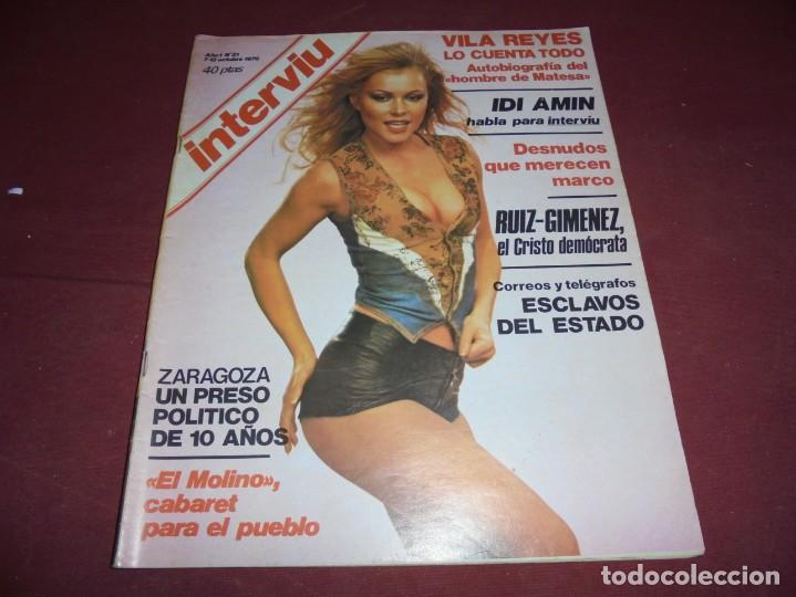 Coleccionismo de Revista Interviú: mangnificas 37 revistas de interviu primeros numeros - Foto 27 - 234664500