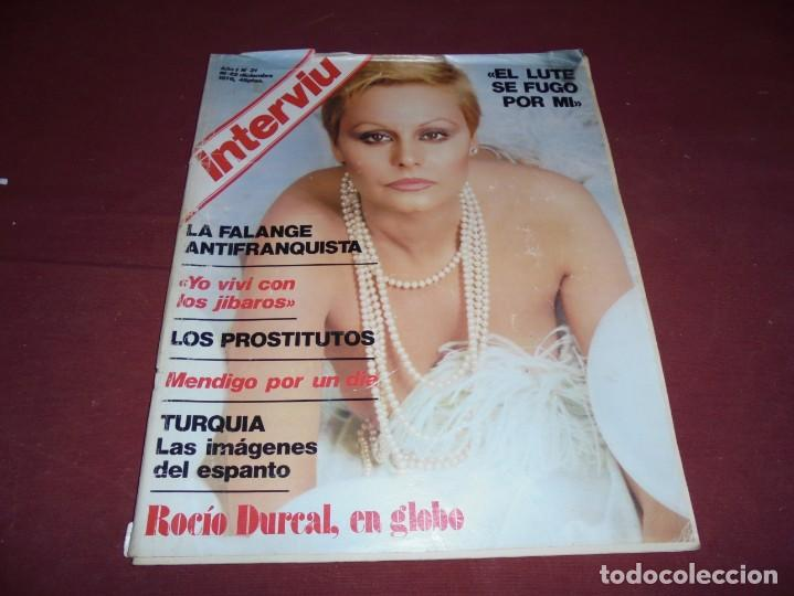Coleccionismo de Revista Interviú: mangnificas 37 revistas de interviu primeros numeros - Foto 29 - 234664500