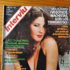 Coleccionismo de Revista Interviú: INTERVIU Nº 84 DE 1977- VIRGINIA MATAIX- BEATLES- SARA LEZANA- SANCHEZ BELLA- HENRI CURIEL- BILLY EL. Lote 234731005