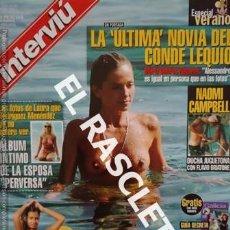 Coleccionismo de Revista Interviú: ANTIGUA REVISTA INTERVIU - Nº 1212. Lote 234908920