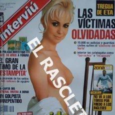 Coleccionismo de Revista Interviú: ANTIGUA REVISTA INTERVIU - Nº 1568. Lote 234912560