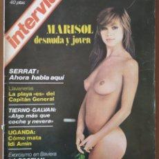 Coleccionismo de Revista Interviú: MARISOL, DESNUDA Y JOVEN. SERRAT: AHORA HABLA AQUÍ. REVISTA INTERVIU. 2-8 SEPTIEMBRE 1976. N° 16.. Lote 235489305