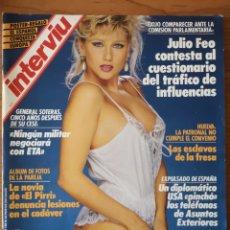 Coleccionismo de Revista Interviú: REVISTA INTERVIÚ Nº 627 1988 LUIS FALCÓN, JAVIER CLEMENTE. RC ESPAÑOL . EL PIRRI.. Lote 236330050