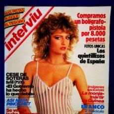 Coleccionismo de Revista Interviú: INTERVIU - N° 384 - 27 09 1983. Lote 237175865