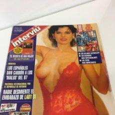 Coleccionismo de Revista Interviú: INTERVIÚ NÚMERO 1132,AÑO 1998, MINNET PARKER,ANNE NICOLE SMITH, EMBARAZO LADY DI. Lote 238176920
