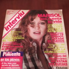 Coleccionismo de Revista Interviú: REVISTA INTERVIÚ N'169 AÑO 1979 MARISOL. Lote 238589635