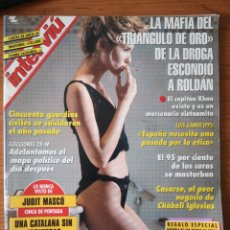 Colecionismo da Revista Interviú: INTERVIU N.º 985 1995 JUDIT MASCÓ, MADONNA, RAMON MENDOZA, CHABELI IGLESIAS, TRANSY FOSFON. Lote 242054740