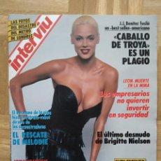 Coleccionismo de Revista Interviú: REVISTA INTERVIU Nº 602. BRIGITTE NIELSEN. TRAMA GAL. JJ BENITEZ. SALVADOS ALLENDE. MINA LEON. VER. Lote 243215735
