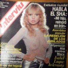 Coleccionismo de Revista Interviú: REVISTA INTERVIU - Nº 192 - 17 ENERO 1980, ISABEL LUQUE, GLORIA GUIDA, BERLANGA, JOAN REVENTÓS, SHA. Lote 244409800