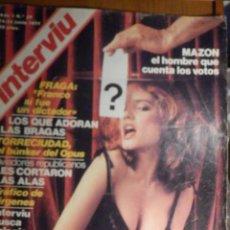 Coleccionismo de Revista Interviú: REVISTA INTERVIU Nº 57 - 16 JUNIO 1977, MAZON, AGATA LYS, LOS QUE ADORAN LAS BRAGAS. Lote 244414850