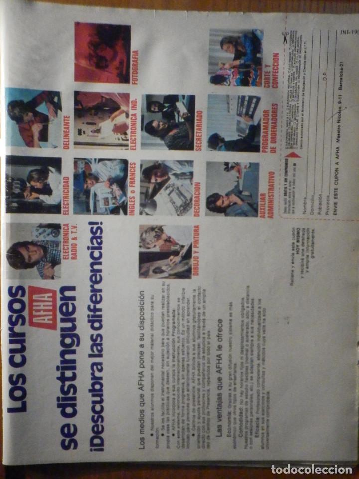 Coleccionismo de Revista Interviú: Revista Interviu Nº 190 - 3 Enero 1980 - MARIA JOSE CANTUDO BAJO LA DUCHA, ZARAGOZA LEGIONARIOS FUSI - Foto 2 - 244430150