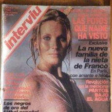 Collezionismo di Rivista Interviú: REVISTA INTERVIU Nº 191 - 10 ENERO 1980 - BO DEREK, DAVID HAMILTON, CARMEN PLATERO, ALBERTO MORAVIA. Lote 244431050