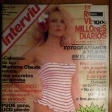 Coleccionismo de Revista Interviú: REVISTA INTERVIU Nº 278 - 9 SEPTIEMBRE 1981 - ENSIDESA - SILVIA TORTOSA - ALCAIDE DE LA MANCHA - MAD. Lote 244698465
