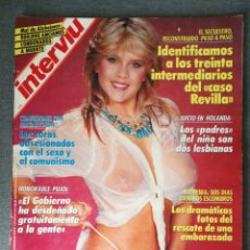 Colecionismo da Revista Interviú: INTERVIÚ N.º 660 1989 FRANCESCA DELLERA, MUERTE EN MINAS, MARÍA LUISA SAN JOSÉ, ALBORETTO DALÍ. Lote 244976380