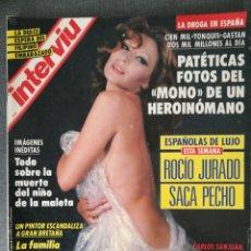 Coleccionismo de Revista Interviú: INTERVIU Nº 840 1992 ROCÍO JURADO, NAOMI MEINHARD, GURRUCHAGA, REBECCA ASHWORTH, PATSY KENSIT. Lote 245028170
