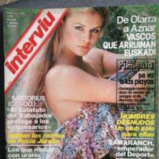 Coleccionismo de Revista Interviú: INTERVIU Nº 167 1979 LOS ANCARES, FRANCISCO IBÁÑEZ. ROCÍO JURADO, SARTORIUS, SAMARANCH. Lote 245076620
