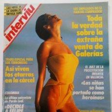 Coleccionismo de Revista Interviú: INTERVIÚ Nº 597 - DEL 21 AL 27 DE OCTUBRE DE 1987. Lote 247322150