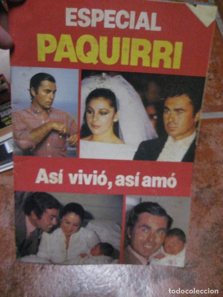 Coleccionismo de Revista Interviú: lote 4 revista interviu . destape . especial paquirri garbo - Foto 7 - 248254040