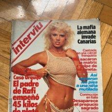 Coleccionismo de Revista Interviú: INTERVIU Nº 403 - MARIEL HEMINGWAY. Lote 251778330