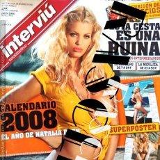 Coleccionismo de Revista Interviú: ANTIGÜA REVISTA INTERVIÚ - Nº 1651 - DICIEMBRE 2007. Lote 252361095