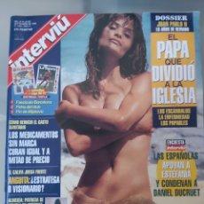 Coleccionismo de Revista Interviú: INTERVIU 1065 HELENA CHRISTENSEN. Lote 252590715