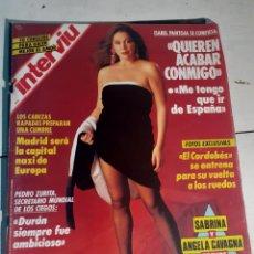 Coleccionismo de Revista Interviú: INTERVIU NUMERO 811. Lote 254228395