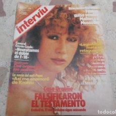 Coleccionismo de Revista Interviú: INTERVIU Nº 376, VICTORIA VERA, CASO URQUIJO, BOKASSA NO ME COMO A LOS NIÑOS,. Lote 254337730