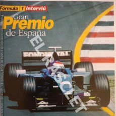 Coleccionismo de Revista Interviú: FORMULA I - INTERVIU - SUPLEMENTO GRAN PREMIO DE ESPAÑA. Lote 254755140