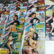 Coleccionismo de Revista Interviú: LOTE 52 INTERVIU 2005. BELEN ESTEBAN, Mª JESUS RUIZ, ELSA ANKA, ESSA PATAKY, .... Lote 255356765