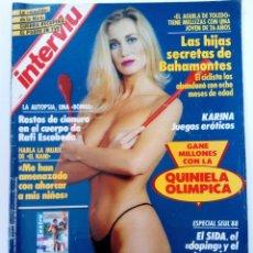 Coleccionismo de Revista Interviú: INTERVIU Nº 644 - DEL 13 AL 19 DE SEPTIEMBRE DE 1988. Lote 255373505