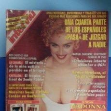 Coleccionismo de Revista Interviú: INTERVIU Nº 1022 - DICIEMBRE 1995 - MADONNA - BENICASSIM, CASTELLÓN, SONIA RUBIO. Lote 257922805