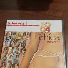 Coleccionismo de Revista Interviú: INTERVIU DVD EDICION 2004 MAKING OFF CHICA INTERVIU. Lote 261656870