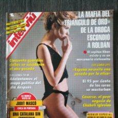 Coleccionismo de Revista Interviú: INTERVIU N.º 985 1995 JUDIT MASCÓ, MADONNA, RAMON MENDOZA, CHABELI IGLESIAS, TRANSY FOSFON. Lote 262556690