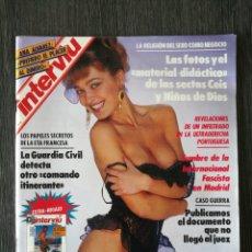 Coleccionismo de Revista Interviú: INTERVIU N.º 741 1990 SECTA CEIS Y NIÑOS DE DIOS, MADONNA, IBIZA, ANA ÁLVAREZ, PAULETTE ILIOHAN. Lote 262559735