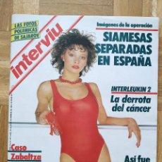 Coleccionismo de Revista Interviú: REVISTA INTERVIU 501. REAL MADRID. NATI ABASCAL. ROCIO JURADO. MAYRA GOMEZ KENT MANZANITA. NALEISE.. Lote 262730170
