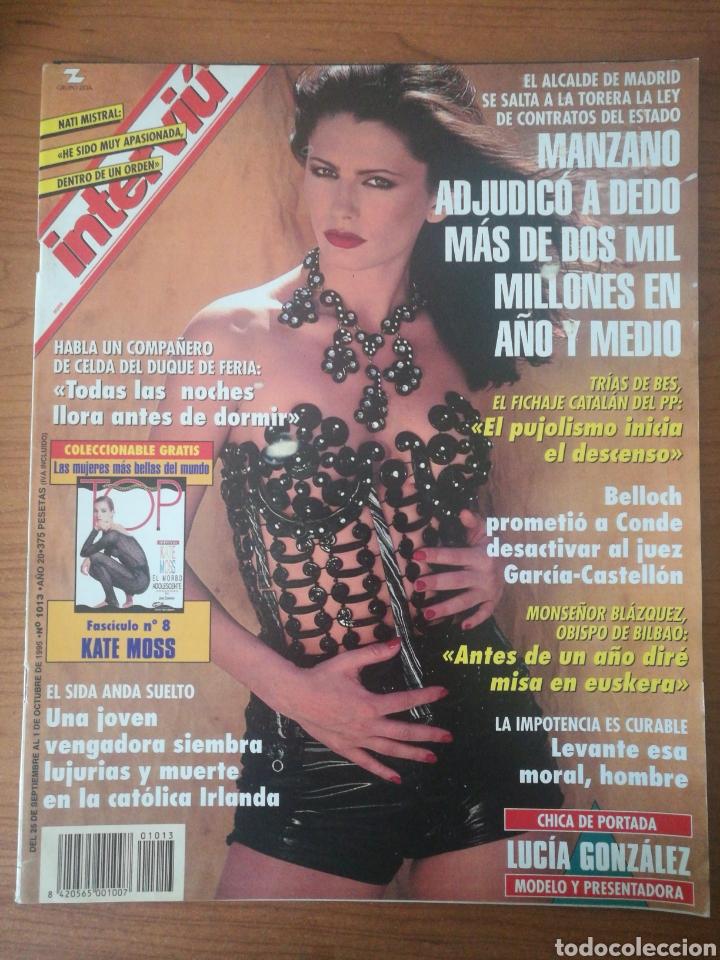 INTERVIU 1013 1995 NATI MISTRAL, LUCÍA GONZÁLEZ. CARLOS CANO, ENRIQUE MÚJICA, WILMA JERENSKI (Coleccionismo - Revistas y Periódicos Modernos (a partir de 1.940) - Revista Interviú)