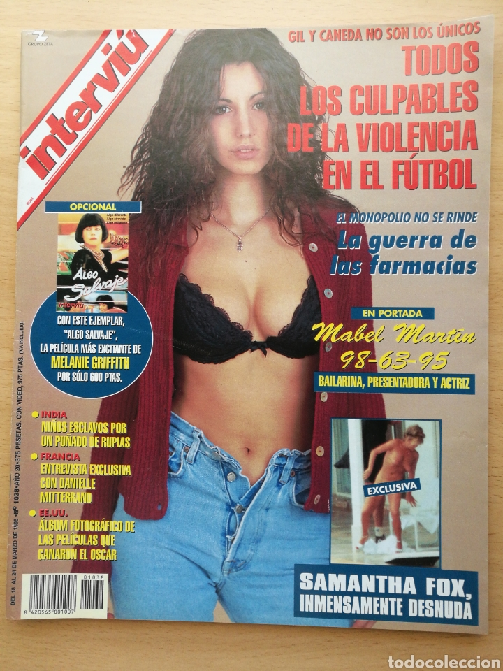 REVISTA INTERVIU 1038 1996 SAMANTHA FOX, MABEL MARTIN, LAURA DEL SOL (Coleccionismo - Revistas y Periódicos Modernos (a partir de 1.940) - Revista Interviú)