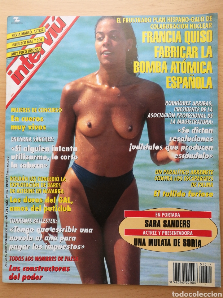 INTERVIÚ 1017 1995 SILVIA MARSÓ, SARA SANDERS, IMANOL ARIAS, ENCARNA SANCHEZ, JOAN GASPART (Coleccionismo - Revistas y Periódicos Modernos (a partir de 1.940) - Revista Interviú)