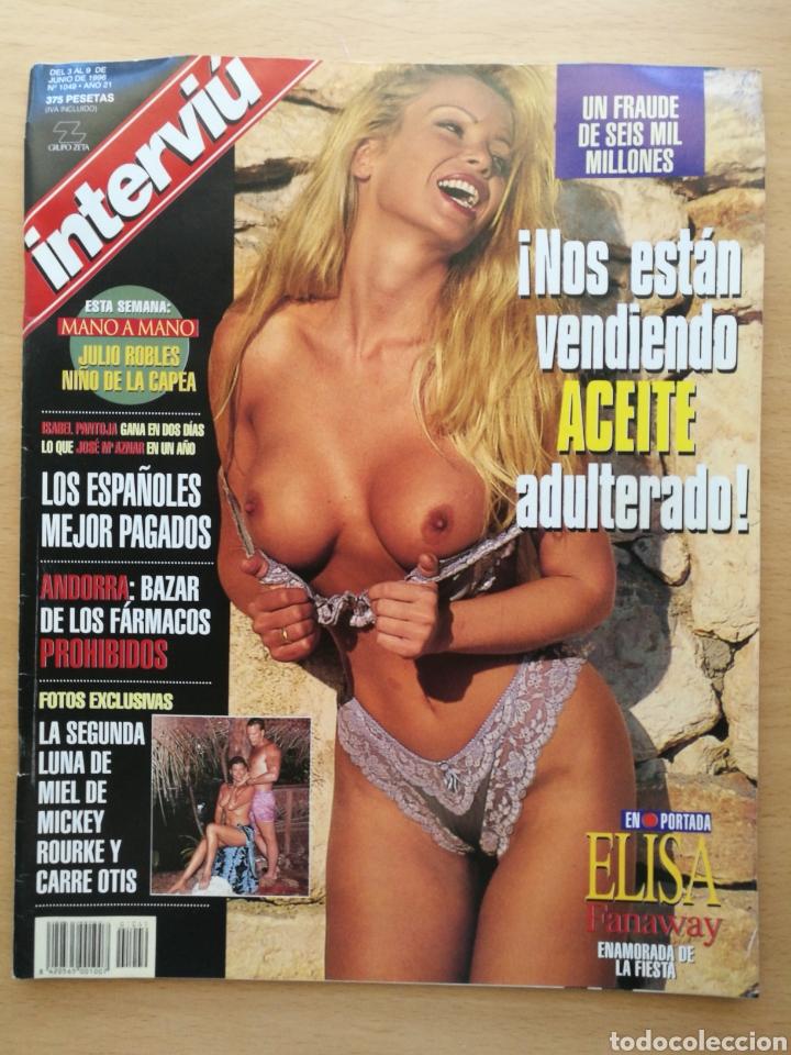 INTERVIU 1049 1996 ELISA FANAWAY, CARRE OTIS, VERÓNICA ALCÁZAR, MUTILACION GENITAL FEMENINA (Coleccionismo - Revistas y Periódicos Modernos (a partir de 1.940) - Revista Interviú)