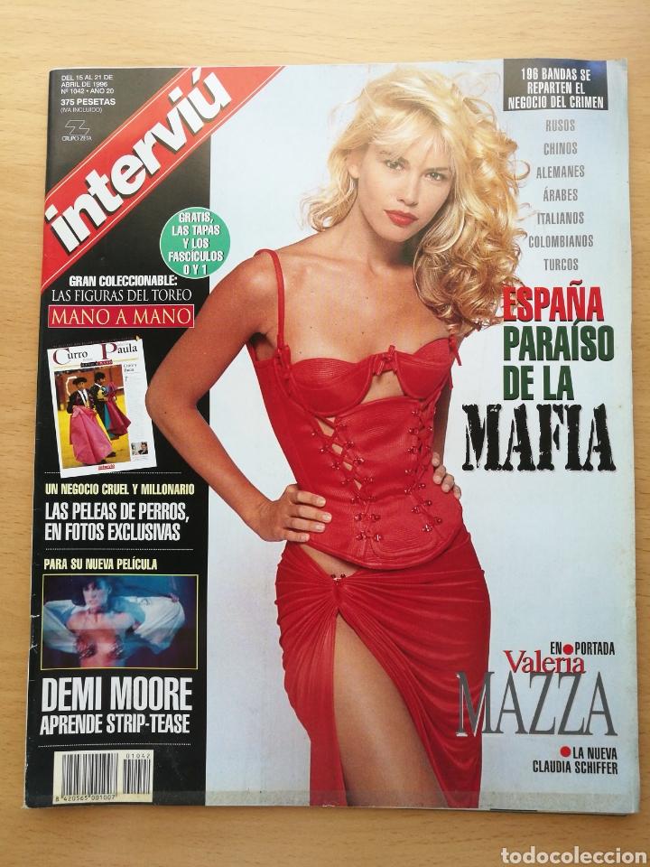INTERVIU 1042 1996 VALERIA MAZZA, VALERIA MAGNANI, ANA TORRENT, PELEAS PERROS, ANA ROSA QUINTANA (Coleccionismo - Revistas y Periódicos Modernos (a partir de 1.940) - Revista Interviú)