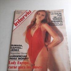 Coleccionismo de Revista Interviú: INTERVIÚ. Lote 262983195