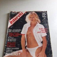 Coleccionismo de Revista Interviú: INTERVIÚ. Lote 262983450